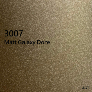 AGT MATT MDF panel, 3007 Matt Galaxy Dore 2800x1220x18 mm